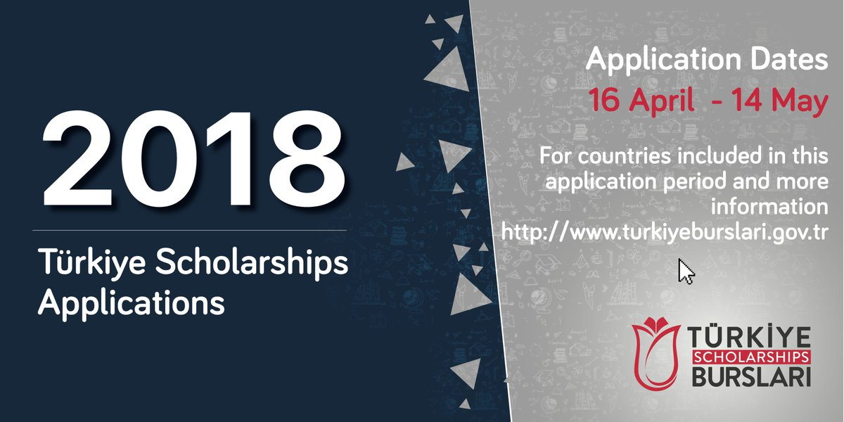 Türkiye International Scholarships to Study in Turkey 2018 (3rd Round)
