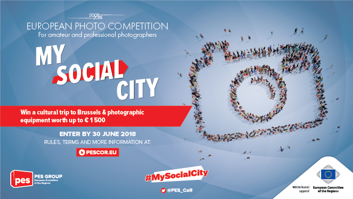 "European Photo Competition on ""My Social City"" 2018 (Win a cultural trip to Brussels)"