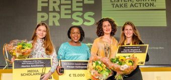 Free Press Awards 2018 for Journalists and Media Professionals Worldwide (Win an expenses-paid visit to The Hague)