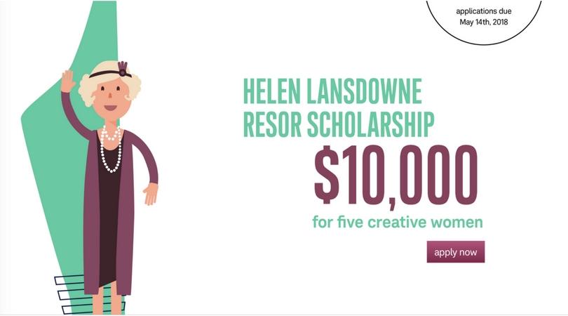 Helen Lansdowne Resor Scholarship 2018 for Creative Women (Win $10,000 + Internship at J. Walter Thompson)