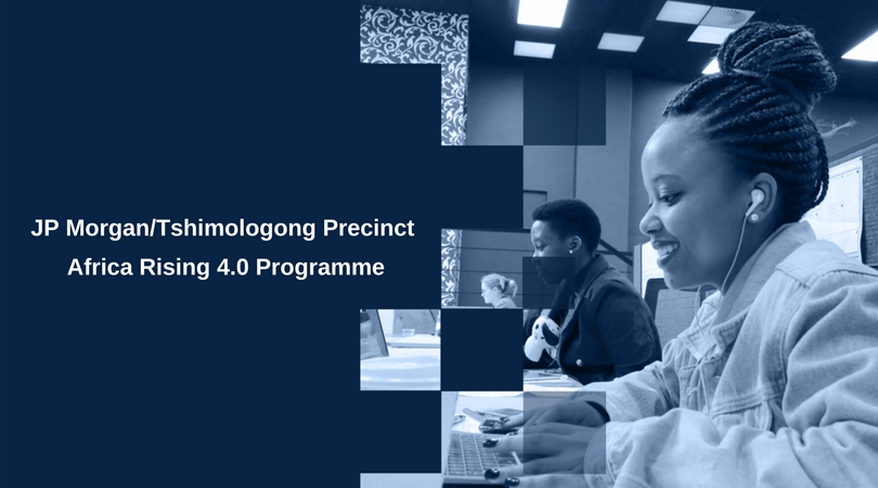 """JP Morgan """"Africa Rising 4.0"""" Incubation Programme 2018 for Early Stage Startups in Johannesburg"""
