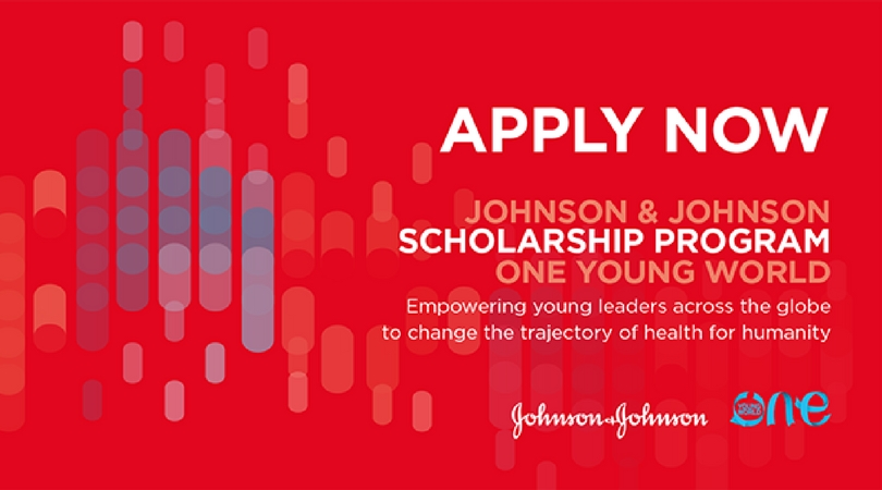 Johnson & Johnson One Young World Scholarship Program 2018 (Fully-funded to OYW Summit in the Netherlands)