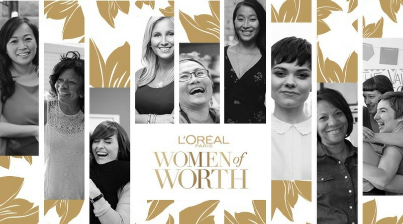 Call for Nominations: L'Oréal Paris Women of Worth 2018 ($10,000 Award)