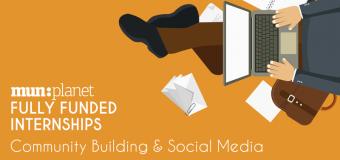 MUNPlanet Internships 2018: Community Building & Social Media (Fully Funded to Serbia, Belgrade)