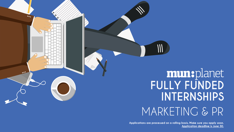MUNPlanet Internships 2018: Marketing & PR (Fully-funded to Serbia, Belgrade)