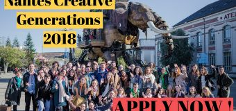 Apply for the Nantes Creative Generations Forum 2018 (Fully-funded)
