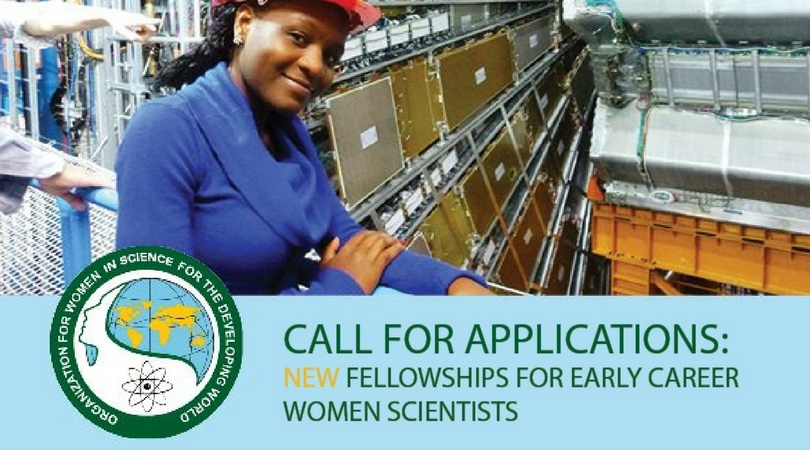 OWSD Early Career Women Scientists Fellowships 2018 (Up to $50,000)
