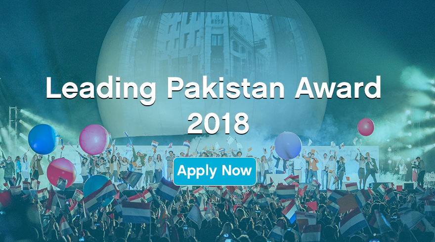 Leading Pakistan Award to attend the One Young World Summit 2018 in The Hague, The Netherlands