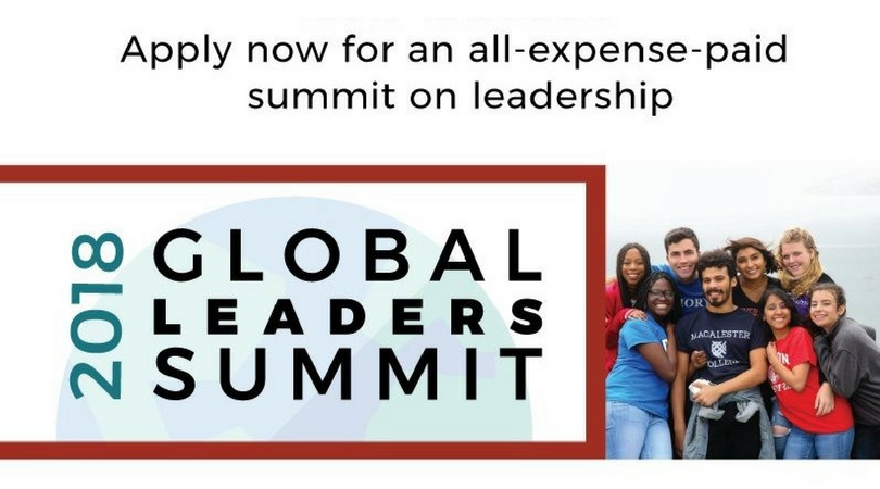 QuestBridge Global Leaders Summit 2018 for U.S. College Students and Recent Graduates (Fully-funded to Oxford)