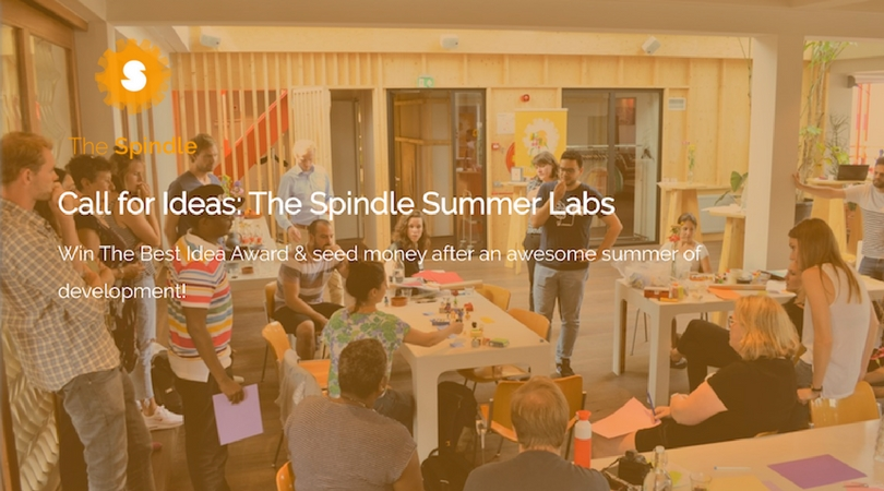 The Spindle Summer Labs Innovation Award for Best Idea 2018 (€5000 seed money)