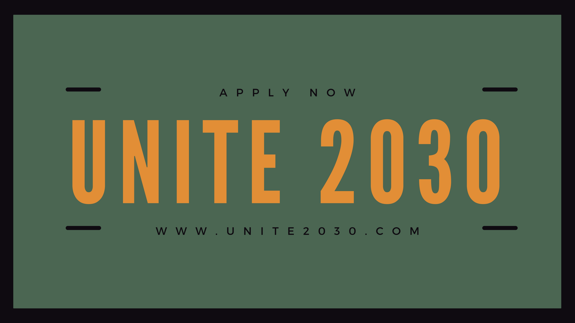 Apply for UNITE 2030 Hackathon Competition 2018 for Worldchangers