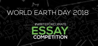 World Earth Day #Write4Climate Essay Competition 2018