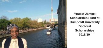 Humboldt-Universität Yousef Jameel Doctoral Scholarships 2018 for Young Researchers from Developing Nations
