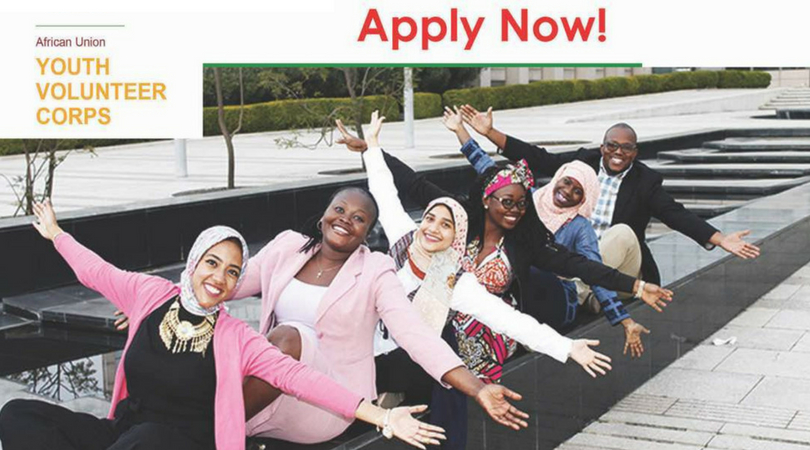 Africa Union Youth Volunteer Corps 2018 – Apply now!