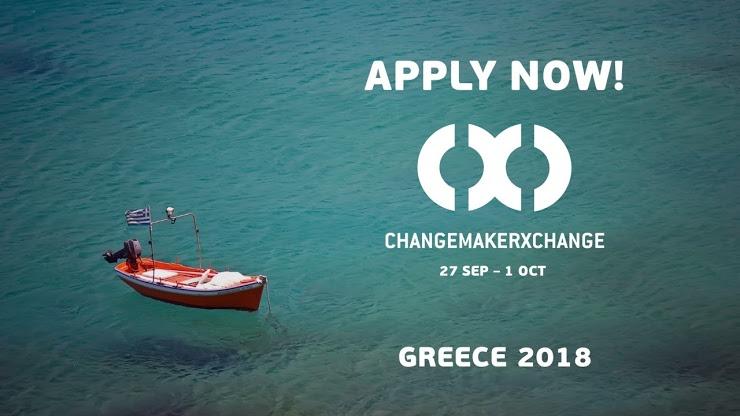 Ashoka ChangemakerXchange Summit Greece 2018 for Young Social Innovators (Funded)