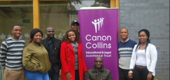 Canon Collins Scholarships for Postgraduate Study in South Africa 2020