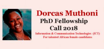 Dorcas Muthoni PhD Fellowship 2018 for African Female Researchers