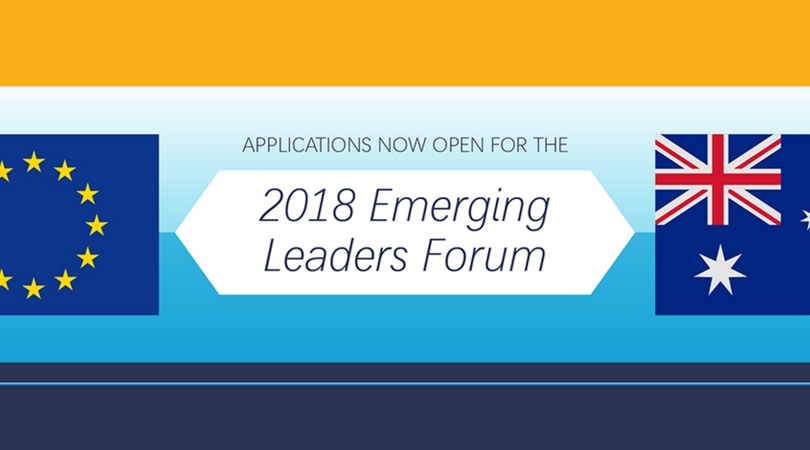 EU-Australia Emerging Leaders Forum 2018 (Fully-funded to Brussels)