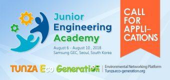 Eco-generation Junior Eco Engineering Academy 2018 for Koreans
