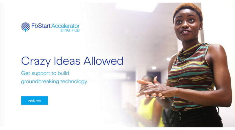 Fb Start Accelerator at NG_HUB 2018 for Students and Startup Teams in Nigeria