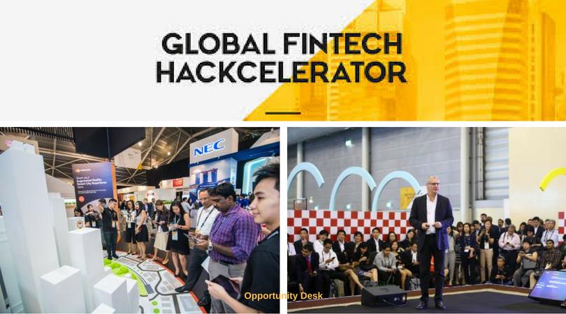 Global FinTech Hackcelerator 2018 for Start-ups Worldwide