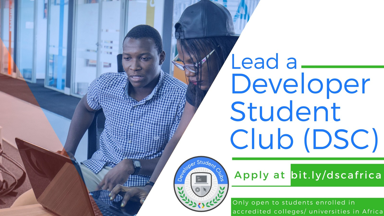 Become a Student Leader of Google Developer Student Club in Africa