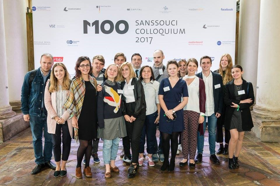 M100 Young European Journalists Workshop 2018 in Potsdam, Germany