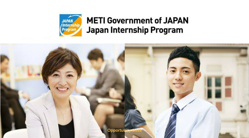METI Government Of Japan Internship Program 2018 for Foreign Nationals of Developing Countries (Fully-funded)
