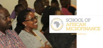 MasterCard Foundation Microfinance Scholars Program 2018 to attend the School of African Microfinance in Kenya