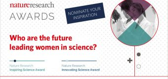 Nature Research Awards for Inspiring Science and Innovating Science 2018 (Grant of $10,000)
