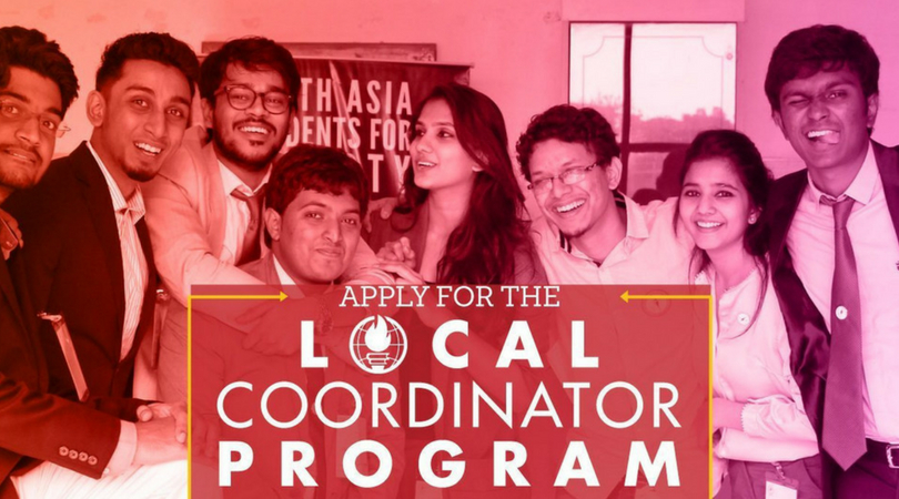 Students For Liberty South Asia Local Coordinator Program 2018/2019 (Fully-funded)
