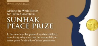 Sunhak Peace Prize 2019 for Changemakers Around the World (Monetary Prize of $1,000,000)