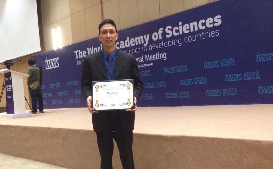 TWAS-Atta-ur-Rahman Award in Chemistry 2018 (Value of $5,000)
