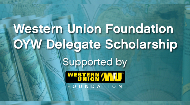 Western Union Foundation One Young World Delegate Scholarship 2018 (Fully-funded to the OYW Summit in the Netherlands)