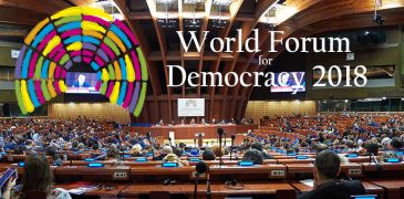 Call for Initiatives: Labs at the World Forum for Democracy 2018 inStrasbourg (Fully-funded)