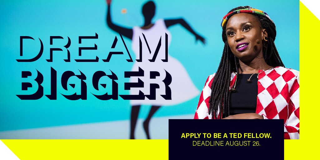 Apply for TED Fellows Program 2019 (Fully Funded to Vancouver, Canada)