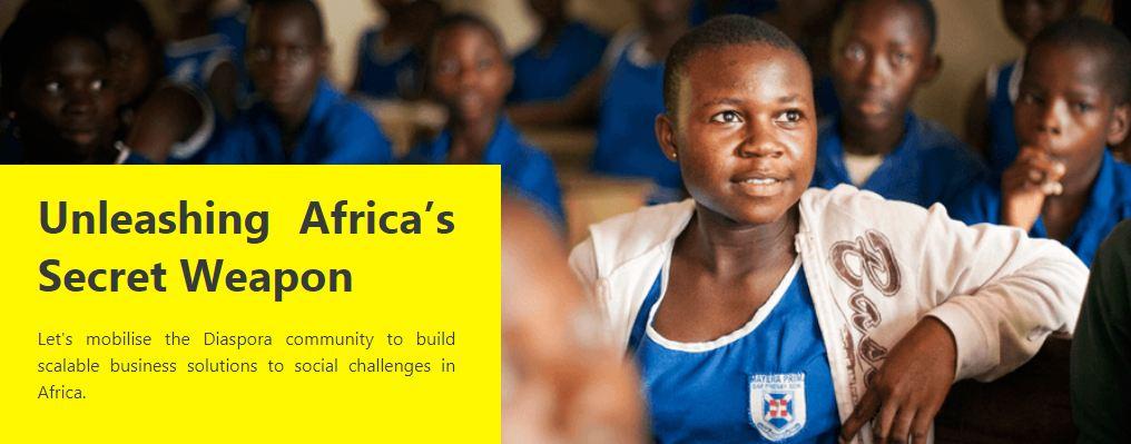 Co-Creation Hub Diaspora Challenge 2018 for Africans in Diaspora