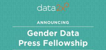 Data2X Gender Data Press Fellowship at UN World Data Forum in Dubai 2018