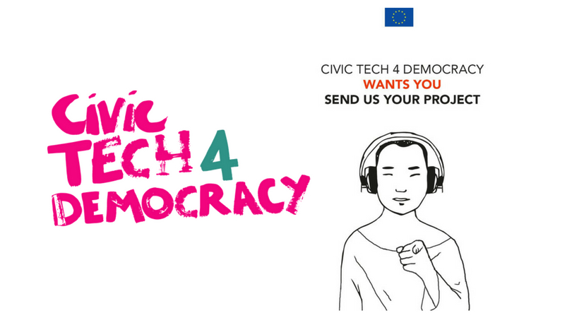 European Union's CivicTech4Democracy Global Competition 2018 (Win a trip to Brussels)