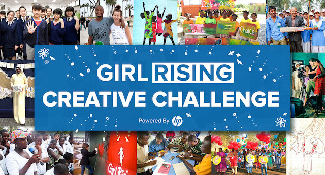 Girl Rising Creative Challenge 2018 (Up to $2,000 prize and more)