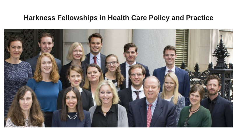 Commonwealth Fund's Harkness Fellowships in Health Care Policy and Practice 2019/20