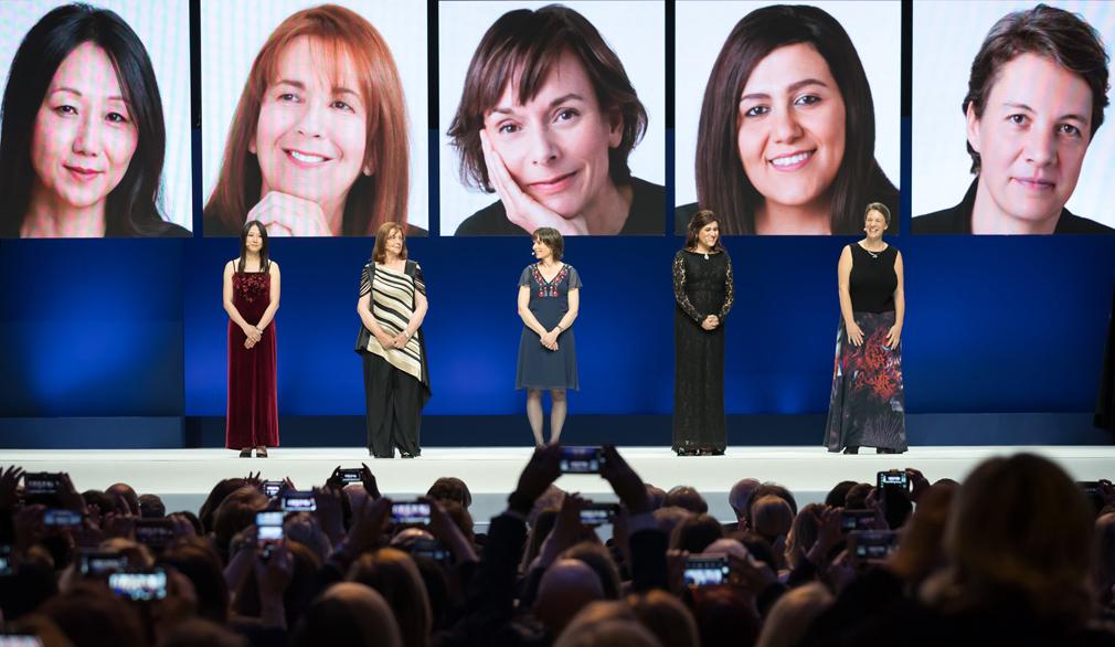 L'Oréal-UNESCO for Women in Science Awards 2019