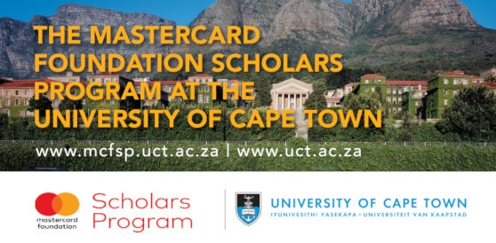 Image result for Cape Town Mastercard Foundation Scholarships