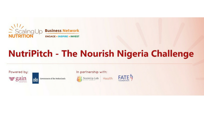 NutriPitch – The Nourishing Nigeria Challenge 2018 (Fully-funded to the Regional Elevator Pitch Competition in Kenya