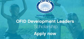 OFID Development Leaders Scholarship 2018 to attend One Young World Summit in the Hague