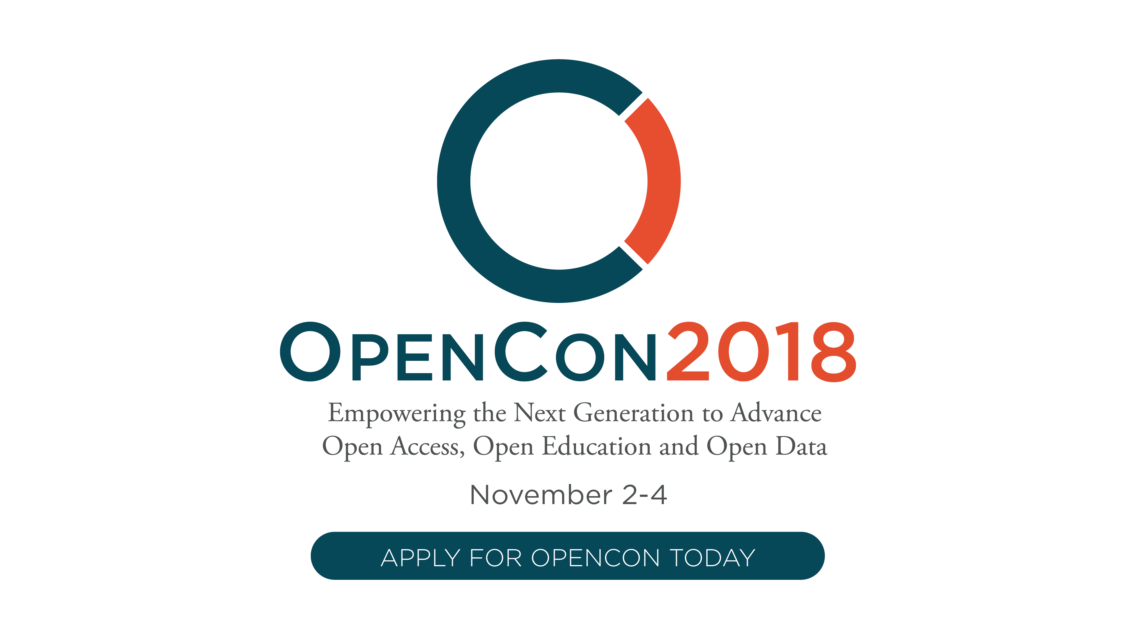 Apply to attend OpenCon 2018 in Toronto, Canada (Travel Scholarships Available)