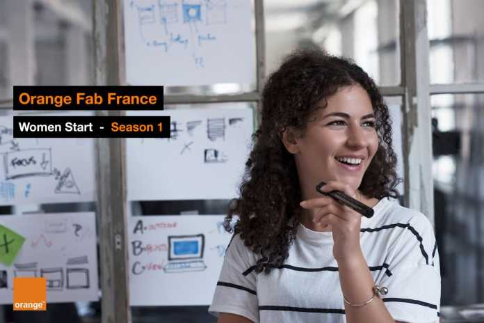 "Orange Fab France ""Women Start"" Program 2018 for Female Entrepreneurs"