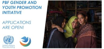 United Nations Peacebuilding Fund (PBF) Gender and Youth Promotion Initiative 2018 for Civil Society Organizations