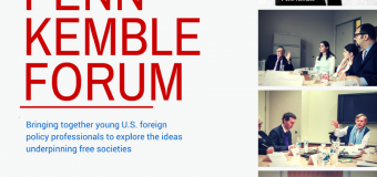 Penn Kemble Forum on Democracy Fellowship 2018/19 for Young US Foreign Policy Professionals