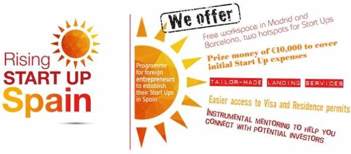 Rising Startup Spain Program 2018 for Foreign Startups & Entrepreneurs (€10,000 prize + more)
